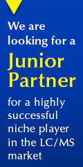 Highl Successful LC/MS Niche Player Is Looking for a Junior Partner 120x240px