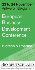 Banner BIO Deutschland European Business Development Conference 120x240px