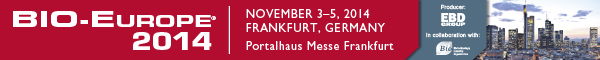 Banner EBD Group BIO Europe 2014 BEU Frankfurt November 600x60px