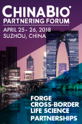 Picture EBD Group ChinaBio Partnering Forum 2018 Suzhou CBPF April 120x180px