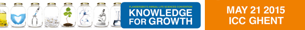 Picture FlandersBio Knowledge for Growth 2015 Ghent 600x60px
