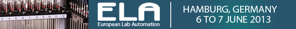 Banner Select Biosciences Ltd European Lab Automation ELA 2013 Hamburg 600x60px